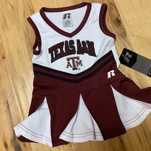 Russell Texas A&M 12m cheerleading outfit